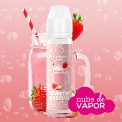 Strawberry Milkshake - Essential Vape by Bombo 50ml
